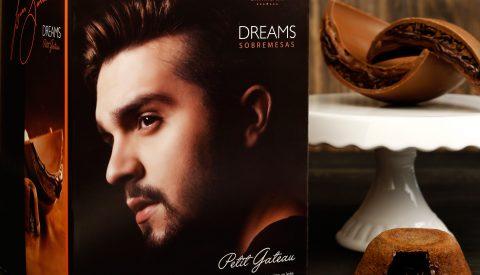 Congraf embala o Ovo Dreams Petit Gateau Luan Santana da Cacau Show
