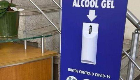 Congraf realiza ações internas no combate contra o coronavírus